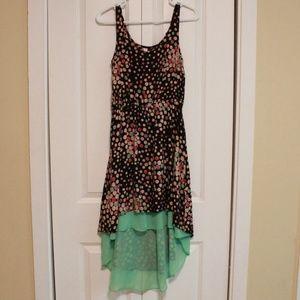 Dot Hi-Low Dress
